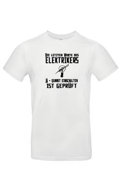 """T-Shirt  """"Elektriker"""""""