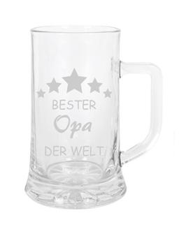 """Bierglas """"Bester Opa der Welt"""""""