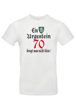 """T-Shirt """"Ein steirisches Urgestein-70"""""""