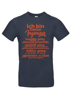 "T-Shirt  ""Diplom-Ingenieur"""