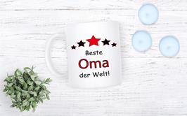 "Tasse ""Beste Oma der Welt"""