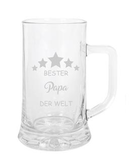 "Bierglas ""Bester Papa der Welt"