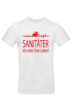 """T-Shirt """"Sanitäter"""""""