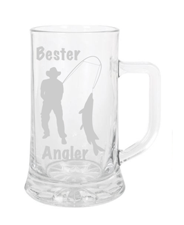 "Bierglas ""Angler"""