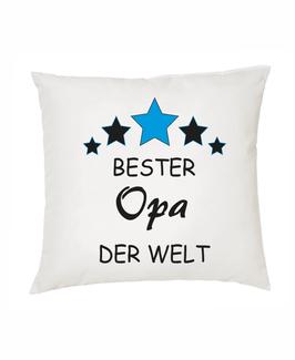 """Polster """"Bester Opa der Welt"""""""