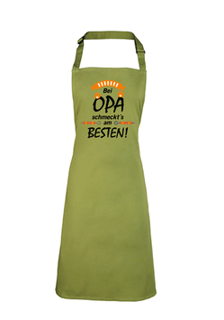 """Schürze """"Bei Opa schmeckt am Besten"""""""