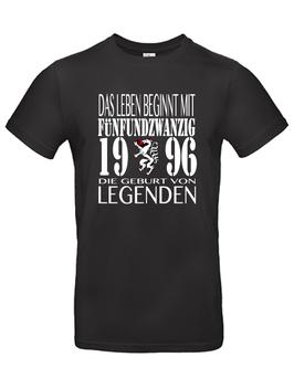 """T-Shirt """"Das Leben beginnt mit 25"""""""