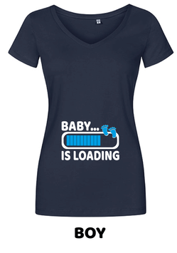 "T-Shirt ""Baby loading"""