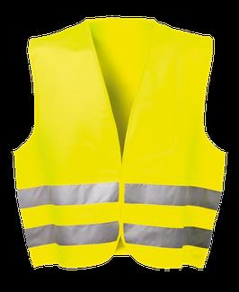 WICATEX® Warnschutzweste Harald fluoreszierend gelb