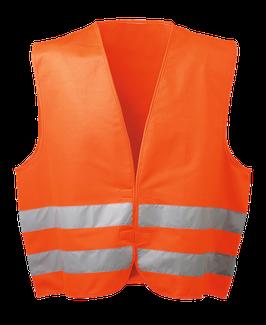 WICATEX® Warnschutzweste Oskar fluoreszierend orange