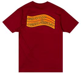 Donald Takayama  T-shirts Orange Flag Logo / Burgundy