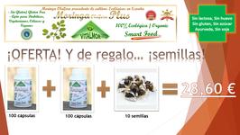 .OFERTA Moringa+Semillas