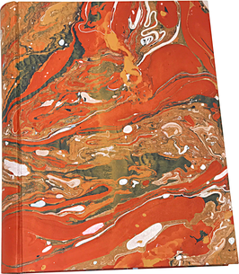 Marbled paper photo album - Carmen