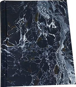 Marbled paper photo album - Andrea
