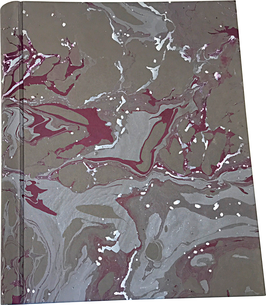 Marbled paper photo album - Leonardo