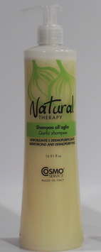 CHAMPU PARA REFORZAR Y PURIFICAR CON AJO NATURAL THERAPY 500 ml.