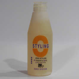 POWERFUL GEL ZERO STYLING 200 ml.