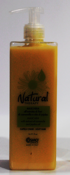 MASCARA CON EXTRACTO DE MANZANILLA Y ACEITE DE JOJOBA NATURAL THERAPY 500 ml.