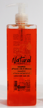 ACEITE DE HENNA SHAMPOO 'Y ALBARICOQUE NATURAL THERAPY 500 ml.