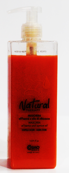 MASCARA DE ACEITE DE ALBARICOQUE HENNA NATURAL THERAPY 500 ml.
