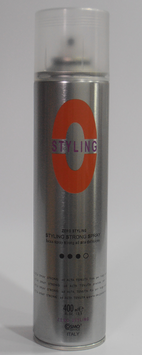 STRONG SPRAY ZERO STYLING 400 ml.