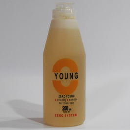 SOFTENING SHAMPOO ZERO YOUNG 200 ml.