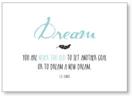 "Kunst-Karte A6 ""Dream"""