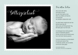 """Postkarte A5 """"Geschenk"""""""