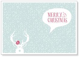 "Kunst-Karte A6 ""Christmas"""