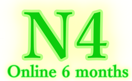 N4 Online course (6 months : 10200 Rs.)