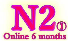N2 Part1 Online course (6 months : 15000 Rs.)