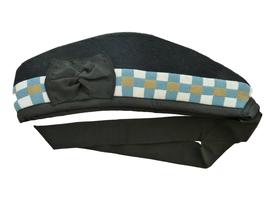 GLENGARRY damier or, bleu & blanc
