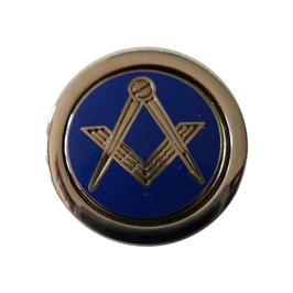 Pin's pour Franc-maçon Bleu et Or