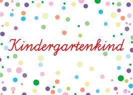"""Postkarte """"Kindergartenkind"""""""