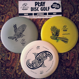 RPM Discs - Disc Golf Starter-Set