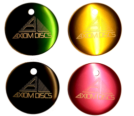 Axiom Metal Micro Disc - Pyramid Logo