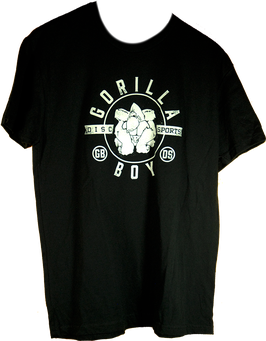 Gorilla Boy Disc Sports T-SHIRT