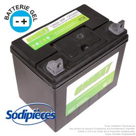 Batterie 12N24-3. Gel. Sans entretien