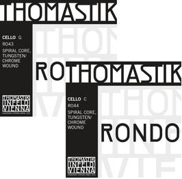 THOMASTIK Rondo струны G + C для виолончели - двойной набор из 2-х струн.