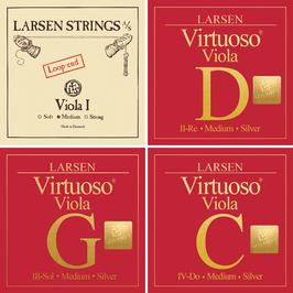 Virtuoso Larsen SOLO струны для альта купить