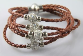 Armband Shamballa Wrap