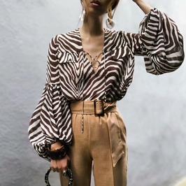 Bluse Zebra