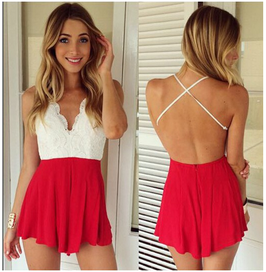 Jumpsuit Rojo
