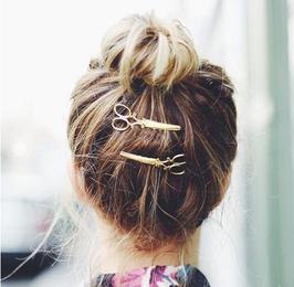 Haarklammer Schere