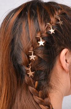 Haarschmuck Stars