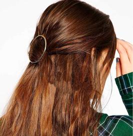 Haarklammer Circle