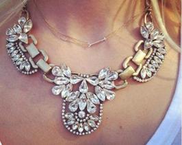 Halskette Fashion Crystal