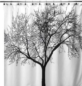 Duschvorhang Baum