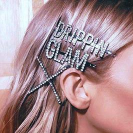 Haarklammer Glitzer Vibes