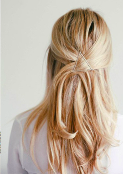Haarklammer Triangulo